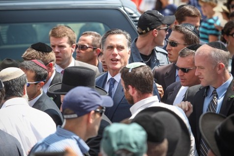 Mitt Romney in Israel