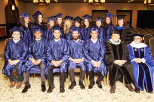 Touro College Los Angeles annual commencement graduates.
