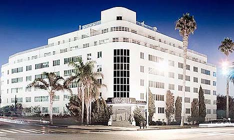 The Hotel Shangri-La in Santa Monica, California.