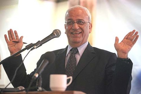 Head of PLO's negotiating team Saeb Erekat.