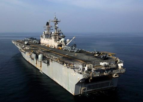 USS Iwo Jima in the Persian Gulf