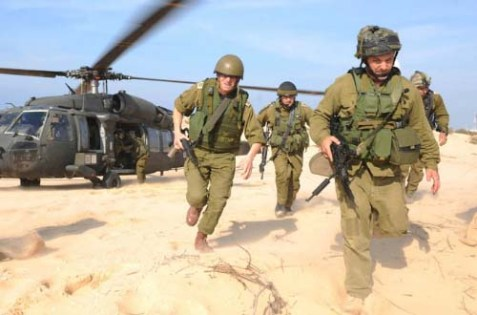Military drill in Israel. (illustrative)