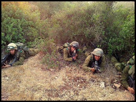 Training in Lebanon-Like Terrain