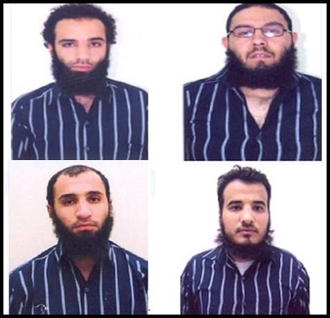 4 out of 11 Al Qaeda Terror Suspects