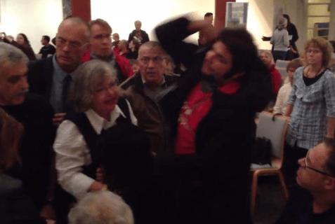 BDS_Activist_Shoves_Old_Woman