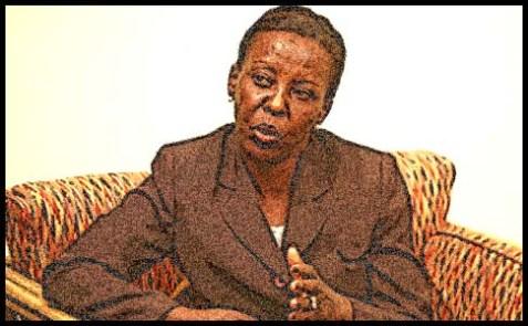 Rwanda's Foreign Minister Louise Mushikiwabo