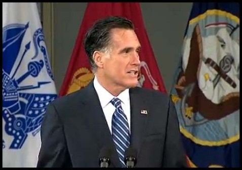 Mitt Romney's Foreign Policy Speech at the Virginia Military Institute 10/8/2012
