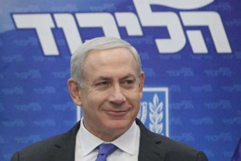 Israeli Prime Minister and Likud Chairman Benjamin Netanyahu.