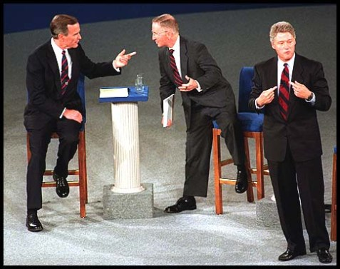 George H.W. Buas, Ross Perot, Bill Clinton
