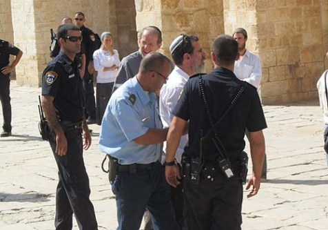 Jews were arrested once again this week for violating the rule against prayer on Temple Mount.