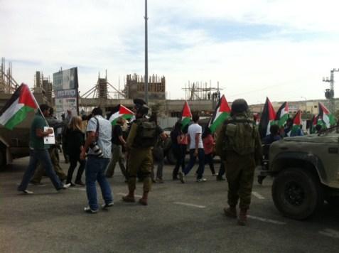 palestinians at rami levy