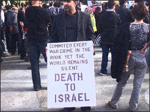 Pro-Israel rallies in Europe are a rarity.