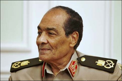 Marshal Hussein Tantawi, the former head of the military council/