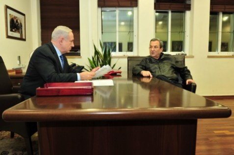 barak and netanyahu