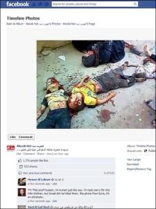"The ""recycled"" massacre, transplanted to Gaza."