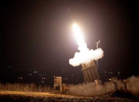 iron dome launch
