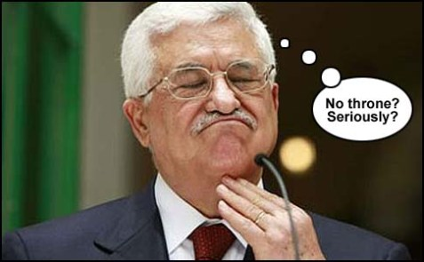 Mahmoud Abbas, without a straight jacket.