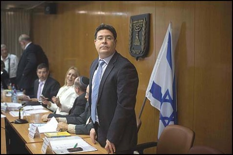 Likud MK Ofir Akonis: unveiled threats against settlers.