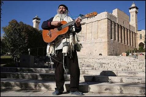 Strumming in Hebron