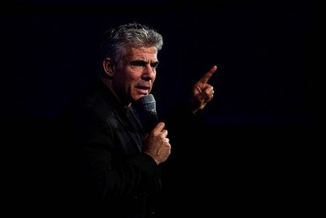 "The big winner Tuesday was Yair Lapid's ""Yesh Atid"""