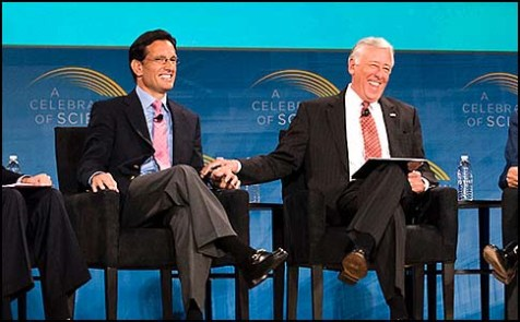 Both Rep. Eric Cantor (R-Va.), the majority leader, and Rep. Steny Hoyer (D-Md.), the minority whip, wanted the PLO punished.