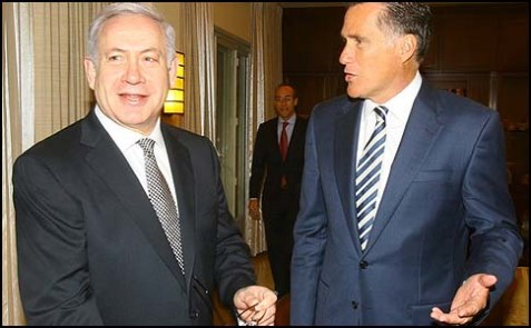 netanyahu romney