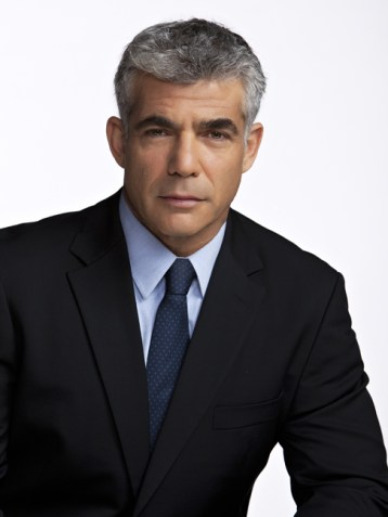 Yair Lapid with his mouth shut.
