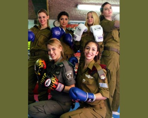 The IDF&#039;s rough and tough nominees for Miss Israel 2013