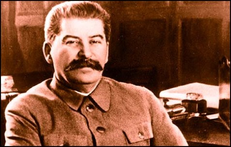 Joseph Vissarionovich Stalin (born Ioseb Besarionis dze Dzhugashvili).