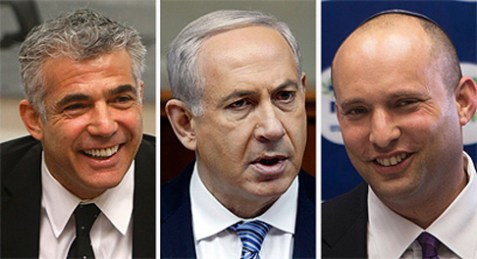 LapidBenjamin Netanyahu, Naftali Bennett