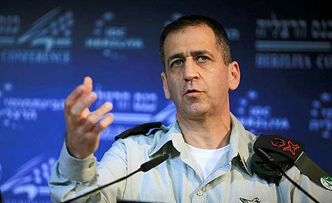 Head of the Military Intelligence Directorate Maj. Gen. Aviv Kochavi