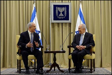 President Shimon Peres granted Prime Minister Benjamin Netanyahu two more weeks to form Israel&#039;s next government, March 2, 2013.