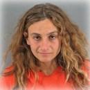 Gabrielle Silverman, mug shot from Oct 9, 2012, San Francisco Police Dept.