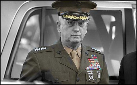 Gen. James Mattis, head of U.S. Central Command