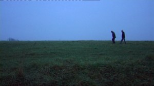 Itzik & Avner Crossing the Fields – Still from 2011 documentary: Here I Learned to Love: a film by Avi Angel. Distributed by Ruth Diskin Films