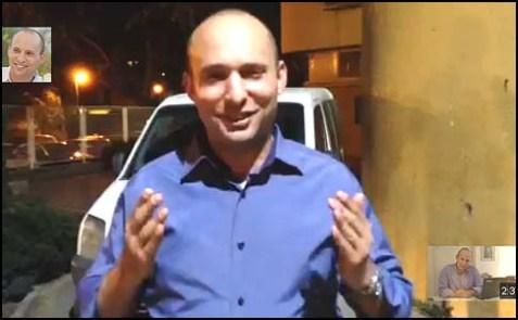 Jewish Home Chairman Naftali Bennett's newest You Tube video.
