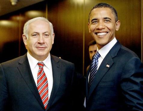 Prime Minister Benjamin Netanyahu and President Barack Obama