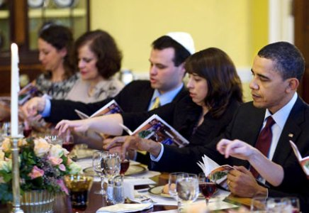 White House Seder 2012
