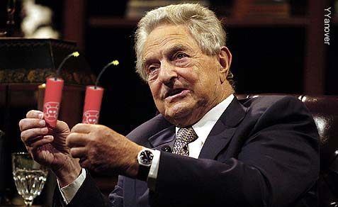 George Soros: No friend of Israel