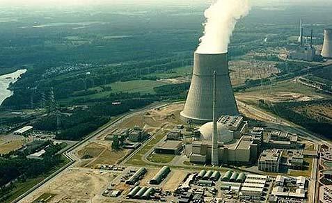 Russsian built Bushehr I nuclear plant.