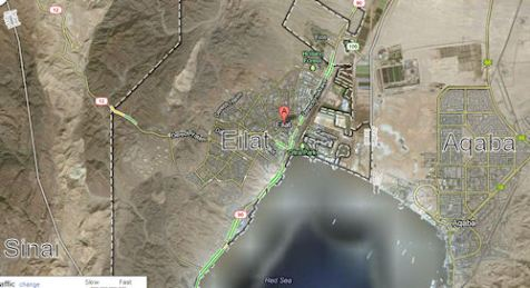 Eilat Aqaba Map