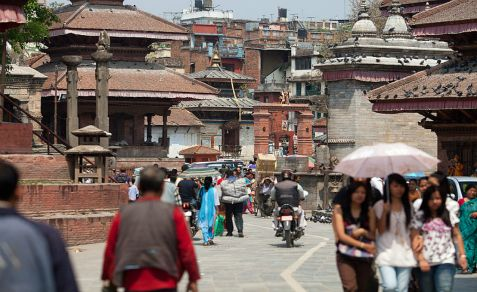 Durbar Square in Kathmandu, the Nepalese capital where an Iranian was caught spying in the area of the Israeli Embassy