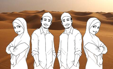 Muslim Teenagers
