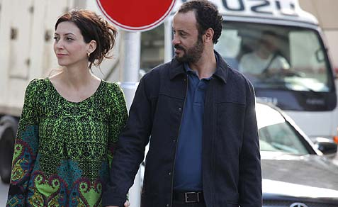 "Reymonde Amsallem as the suicide bomber wife of a Tel Aviv Surgeon (Ali Suliman) in ""The Attack."""