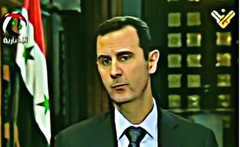 "Syrian President Bashar al-Assad says in interview that there is ""popular pressure"" to open a military front against Israel."