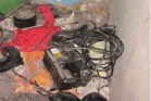 Improvised explosive device  (IED) found on Hamas terror cell. (file)