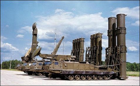Russia announces reacts to EU green light for arms for Syrian rebels by stating it will sell S-300 anti-aircraft missiles to Assad