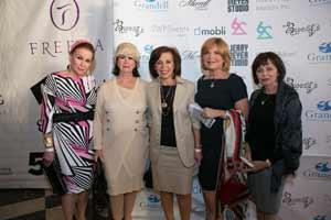 (L-R) Beverly Pomerantz, Rita Nussbaum, Mimi Thurm, Paula Weinstein Miriam Lifschutz