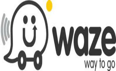 Waze logo - soon to be part of Google's Internet empire