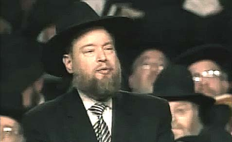 Former Executive Vice President of Agudath Israel Rabbi Shmuel Bloom